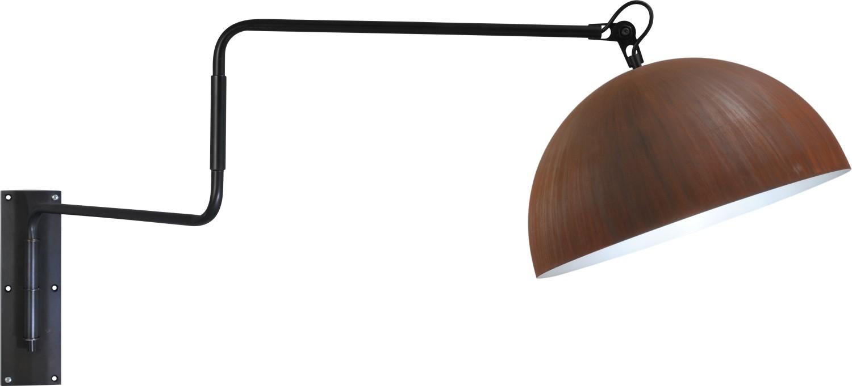 Loftlampe in Rost Braun