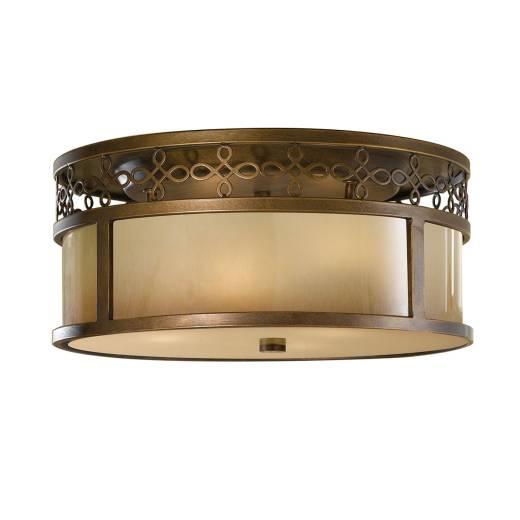 Deckenleuchte ANABELL 4 Bronze Beige Ø38cm Lampe