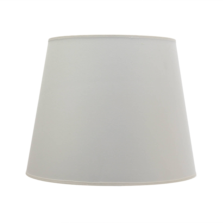 Lampenschirm Weiß Stoff für Stehlampe E27