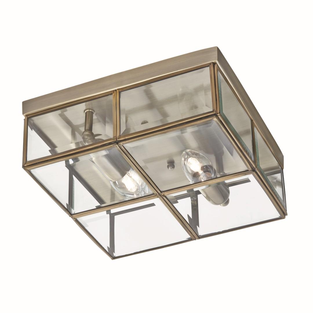 Bauhaus Deckenleuchte Deckenlampe Bronze farben