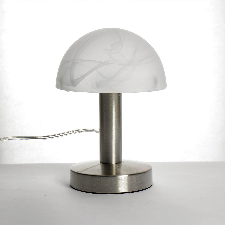 Tischleuchte mit Touchdimmer weiß