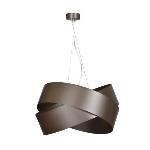 Pendelleuchte Braun Metall Design höhenverstellbar
