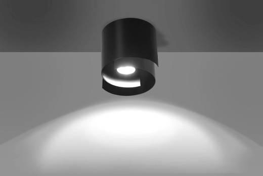 Deckenleuchte Schwarz Metall rund Modern GU10