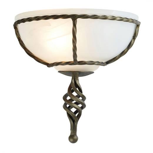 Wandleuchte ANOUK Gold B:26cm Lampe Schlafzimmer