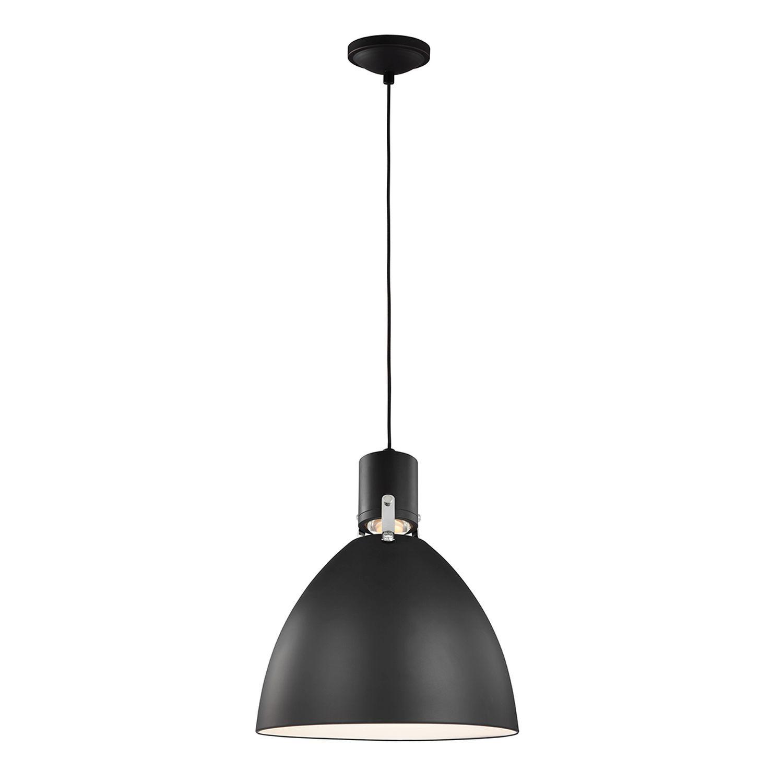 LED Pendelleuchte Schwarz Küche Esszimmer Metall