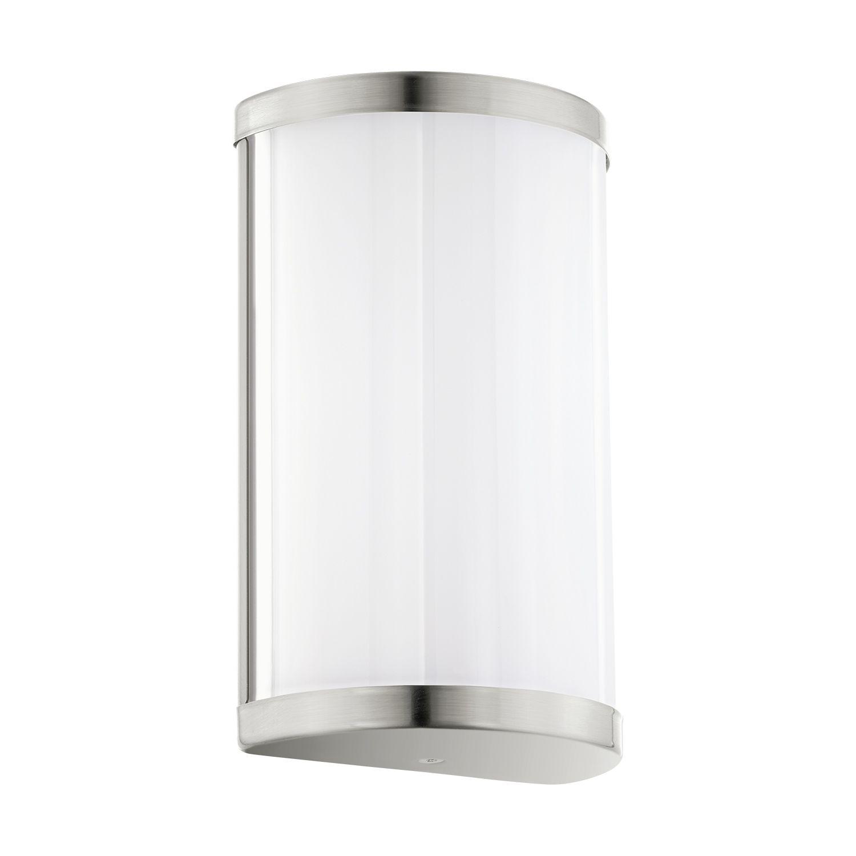Zeitlose Wandlampe LED Cupella Nickel-Matt 2-Flmg