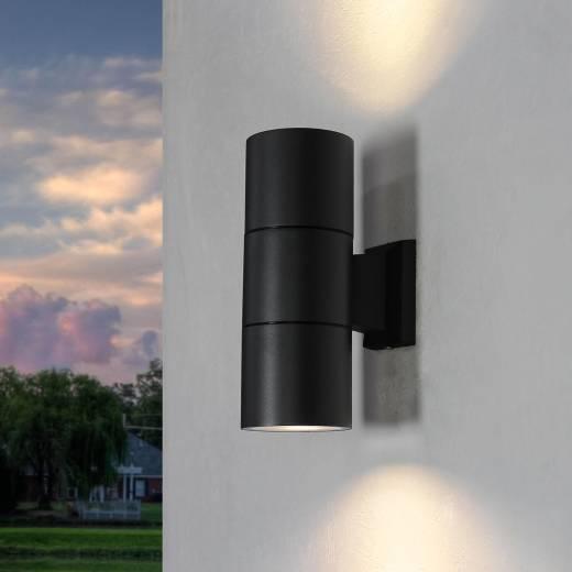 Moderne Wandlampe Außen Up Down Strahler HAMBURG