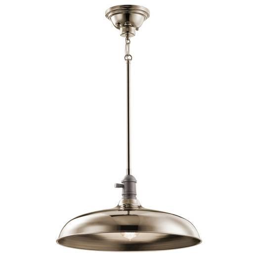 Deckenlampe COBSON Küche Esstisch in Nickel verstellbar