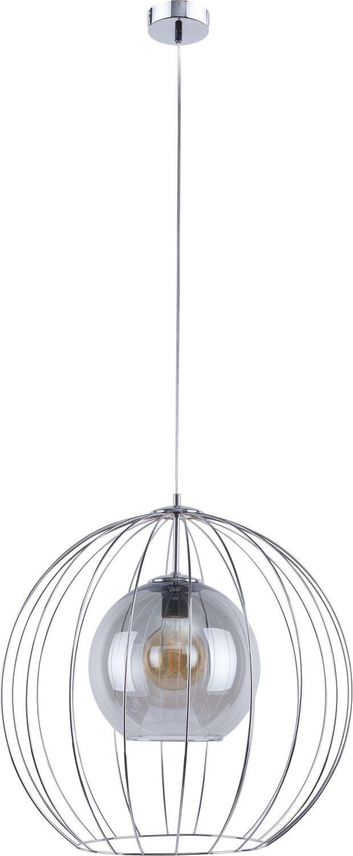 Pendelleuchte ISAKA Graphit Chrom Esszimmer Lampe