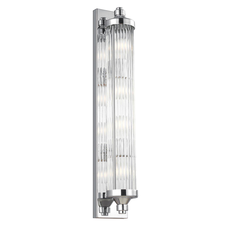 LED Wandlampe ERVA Bad 4-flmg IP44 Design Badlicht