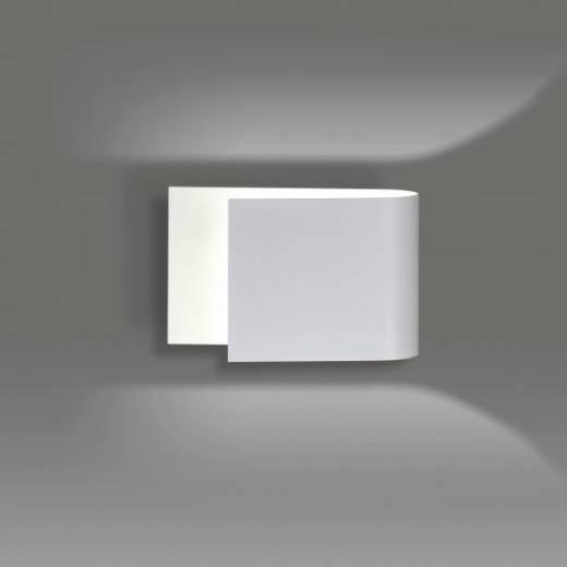 Moderne Wandleuchte Weiß Metall up and down G9