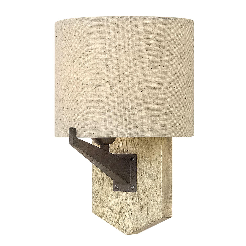 VIVIA Wandleuchte Beige B:21cm Rustikal Lampe