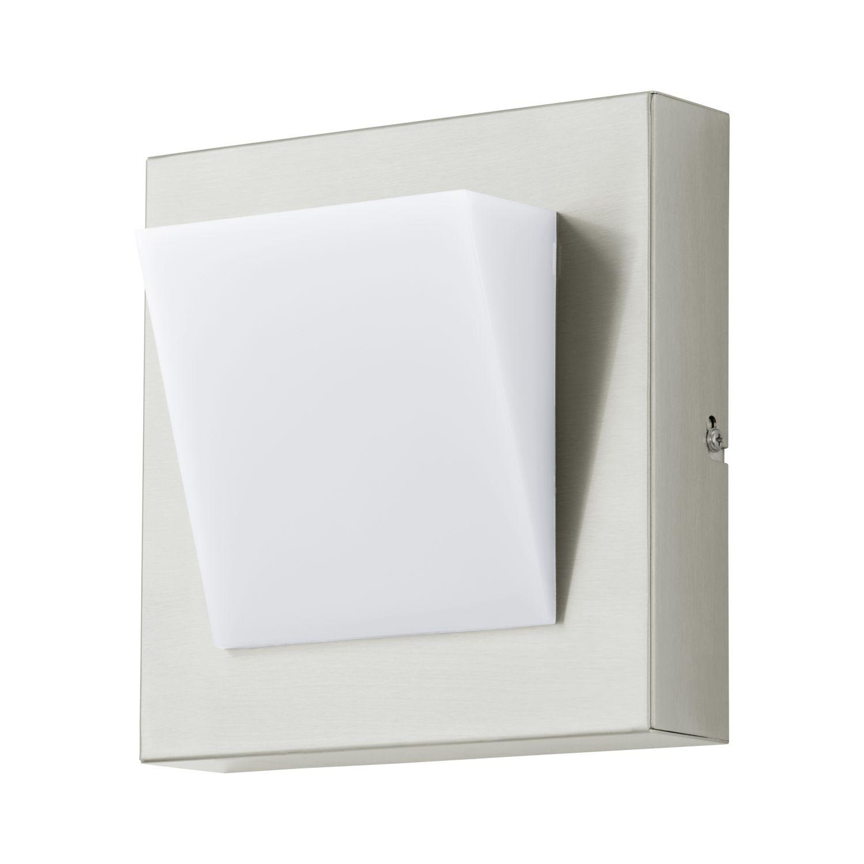 Flache Wandaußenleuchte LED  Calgary 1 Weiß