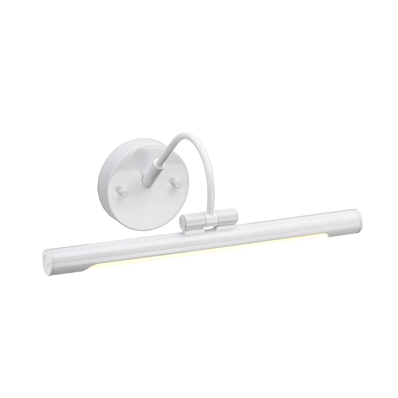 LED Bilderleuchte Weiß GAMBAR verstellbarer Arm