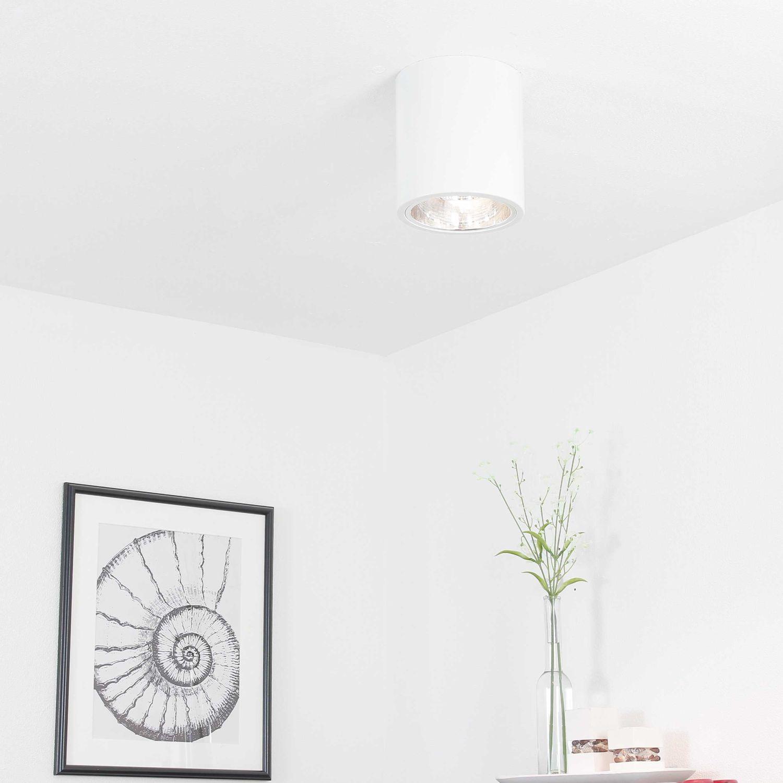 Runde Bauhaus Deckenleuchte Deckenstrahler E27 DOWNLIGHT ROUND für die Küche