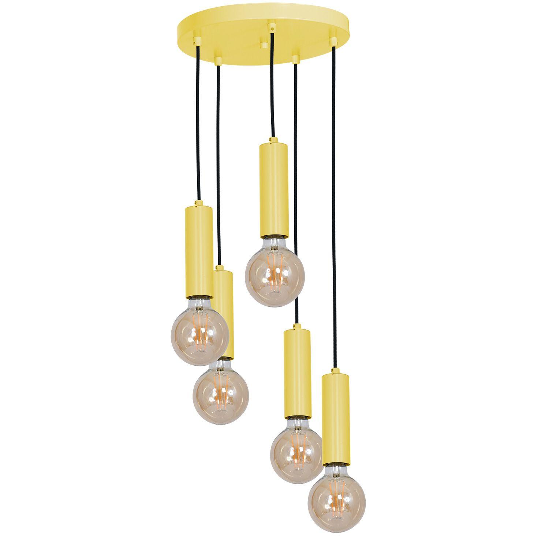 Gelbe Kinderzimmerlampe MALA verstellbar fröhlich
