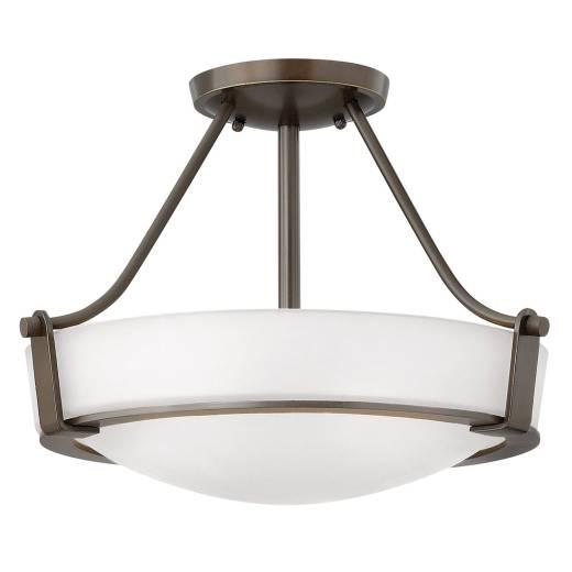 Deckenleuchte SOMBRA Bronze Ø41cm Lampe Wohnzimmer
