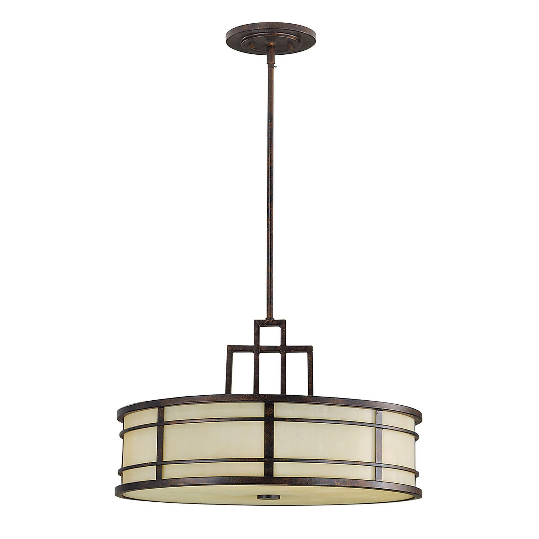 Deckenleuchte SHOJI Ø53cm kürzbar Vintage Lampe
