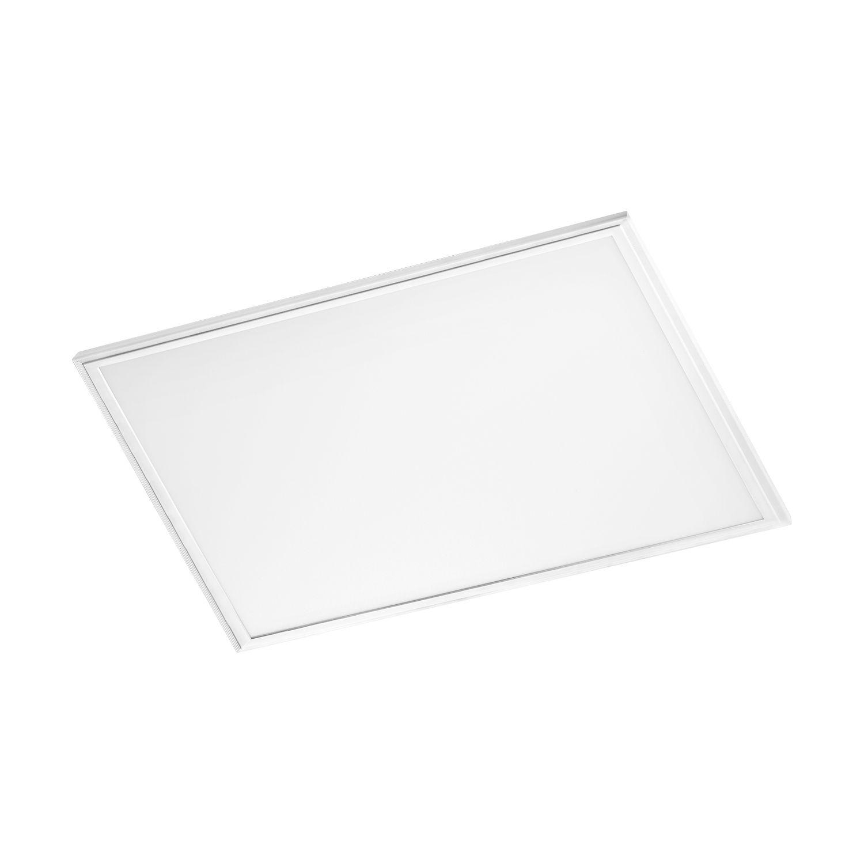 Eckiger Einbau LED Spotstrahler Salobrena 1 Weiß