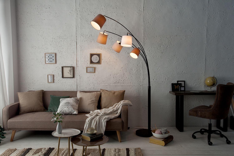 Design Stehlampe LEVELS Modern 200cm Wohnzimmer