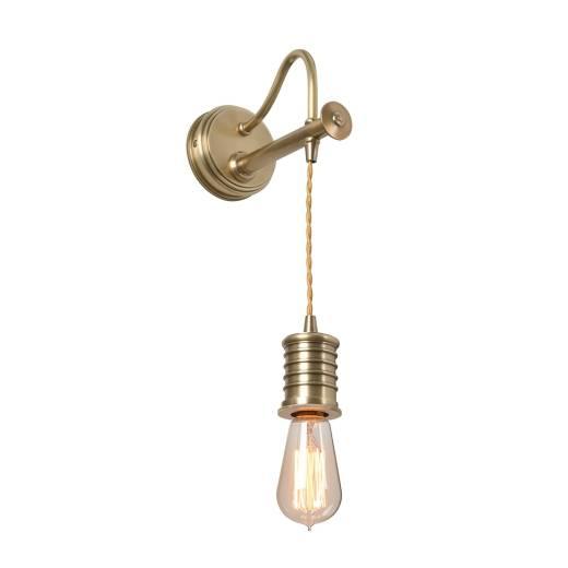 Wandlampe COLGAR Messing Design Lampe Wohnzimmer