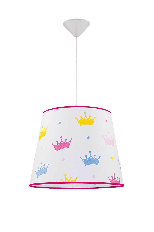 Weiße Kinderzimmer Lampe Ø38cm Für Kinder Mädchen