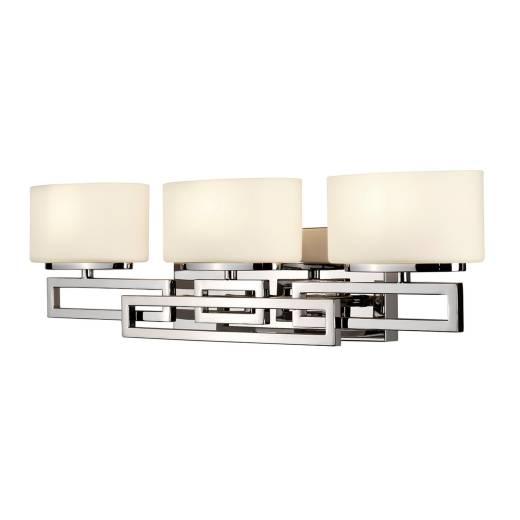 Elegante LED Badlampe Glas Schirm IP44 blendarm