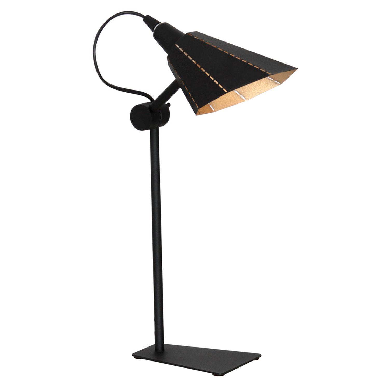 Schreibtischlampe Schwarz flexibel Tisch Lampe