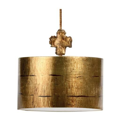 Deckenleuchte EXTRATO Blattgold Ø38cm Design Lampe