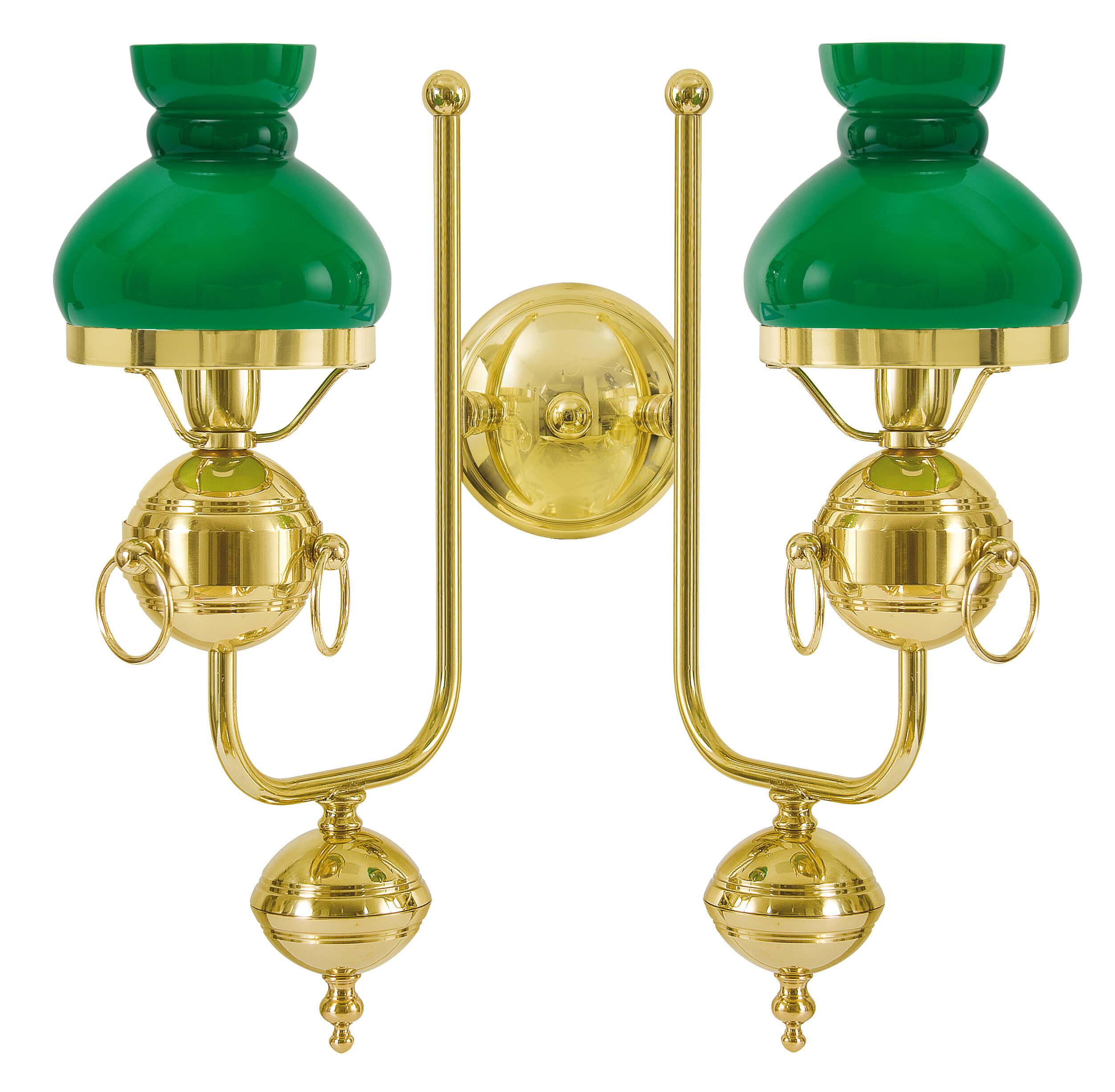 Premium Wandleuchte Vergoldet Mit 24 Karat Gold2-Flmg