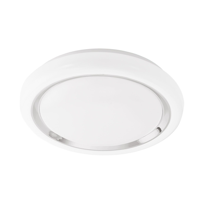 Deckenleuchte LED Capasso Chrom Ø34cm