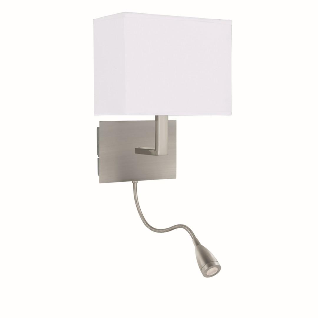 Wandlampe Silber farben