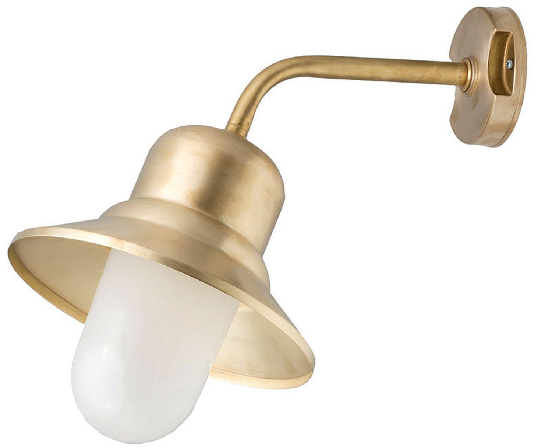 Außenwandlampe Messing Haustür Hof Maritim IP23