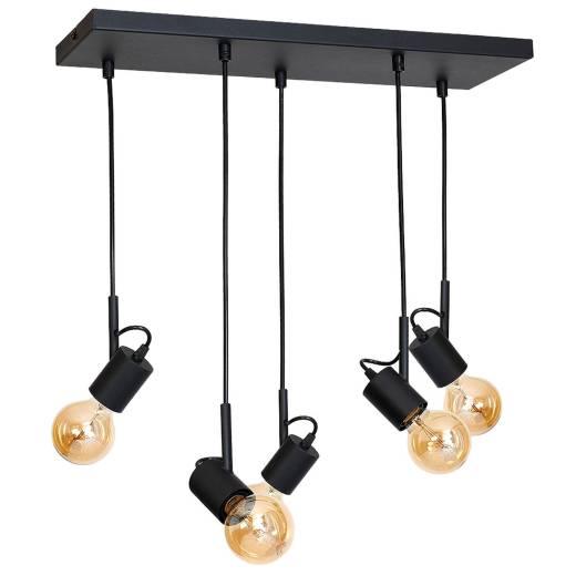 Pendelleuchte Schwarz Esszimmer Modern stylisch