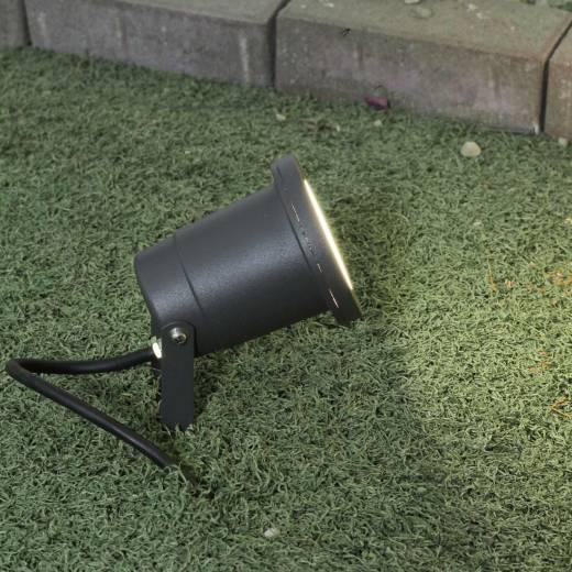 Wegbeleuchtung Garten Anthrazit verstellbar Erdspieß